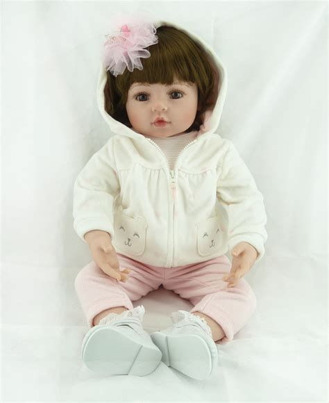princess house doll collection 55cm silicone reborn baby doll toys simulation vinyl princess dolls girls birthday