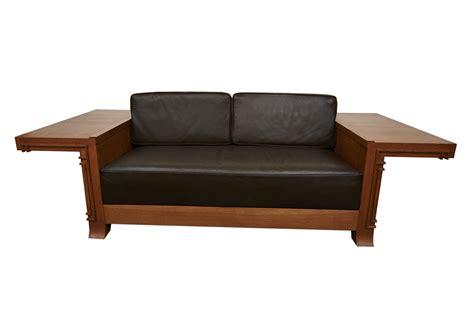 Frank Lloyd Wright Sofa by Frank Lloyd Wright American 1867 1959 Cantilevered