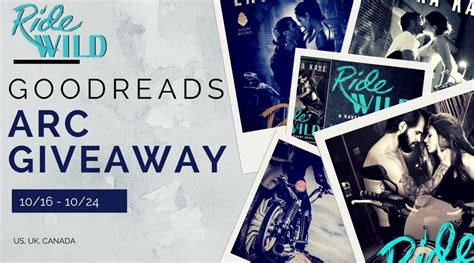 Good Reads Giveaway - ends today ride wild goodreads giveaway laura kaye