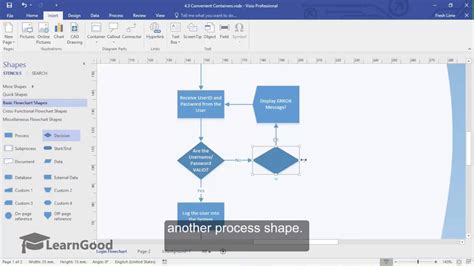 ms visio tutorials microsoft visio tutorial convenient containers