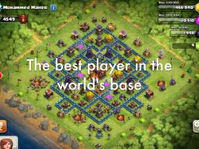 clash of clans best player clash of clans by griffin m