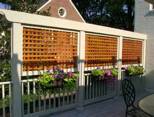 Lattice Screen Designs 17 Best Ideas About Deck Privacy Screens On