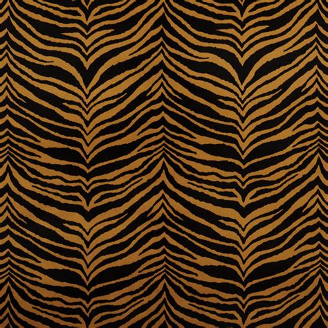 zebra print upholstery fabric e416 gold and black tiger animal print microfiber
