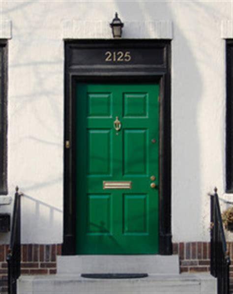 curb appeal meaning what does a green front door meaning of a green