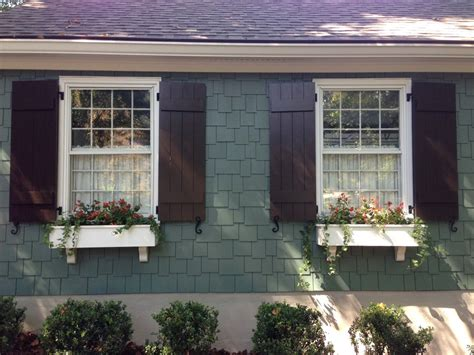house shutters craftsman style shutters exterior craftsman with board and