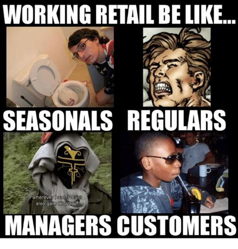 Working In Retail Memes - 25 best memes about brouzouf brouzouf memes