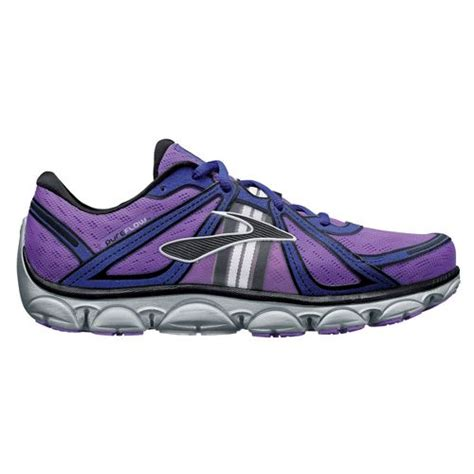 womens purple athletic shoes womens pureflow athletic running shoes neon purple