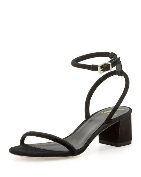 block heel black sandals b brian atwood kelston black block heel ankle