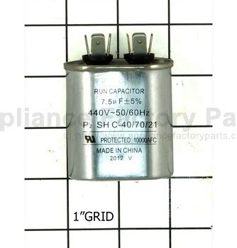 trane capacitor warranty capacitors trane parts air conditioners