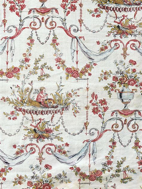 fabric pattern in french antique french fabric trouvais