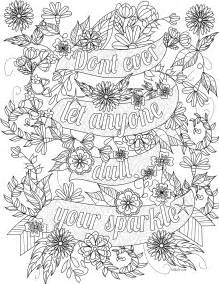 free coloring pages of inspirational