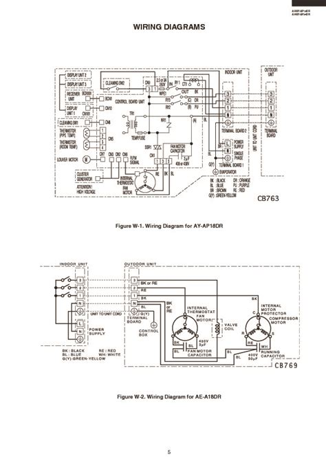 sharp air conditioner wiring diagram wiring diagram manual