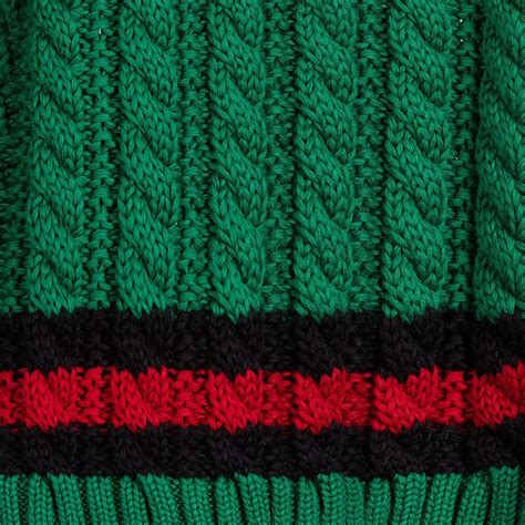 cotton knit gucci baby boys green cotton knit sweater childrensalon