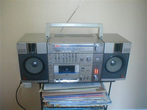 stereo for sale vintage jvc boombox in excellent condition for sale