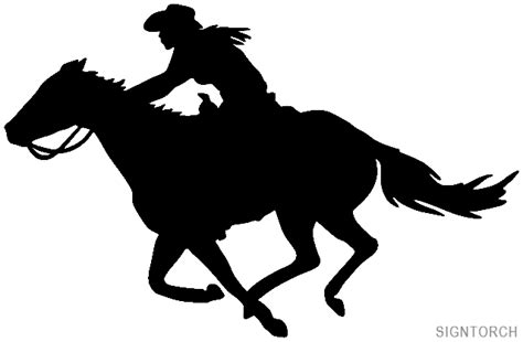 western horse silhouette www pixshark com images
