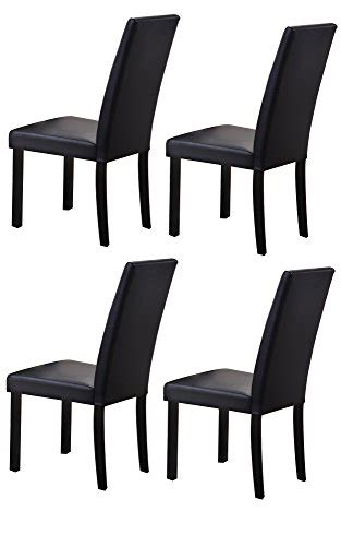 kings brand black metal dining room chair with vinyl seat black dining chairs guide from country to elegance home