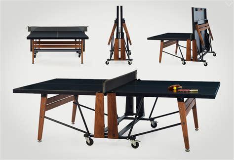 foldable ping pong table rs barcelona folding ping pong table lumberjac