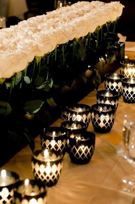 black white and gold centerpieces for wedding 46 cool black and white wedding centerpieces happywedd