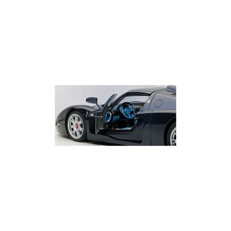 Maserati Mc12 Road Car Metallic Blue Passion Diecast