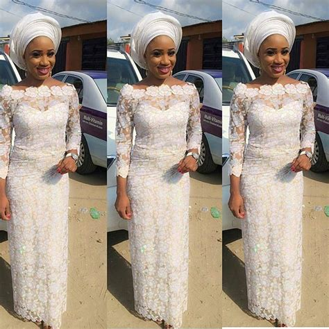 trending french nigeria lace dress styles  styles art