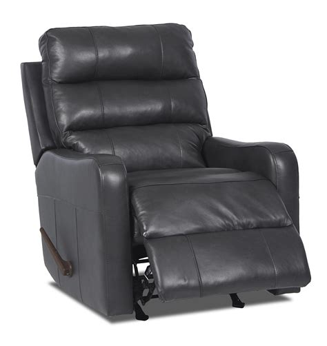 johnny janosik recliners klaussner striker contemporary reclining chair johnny