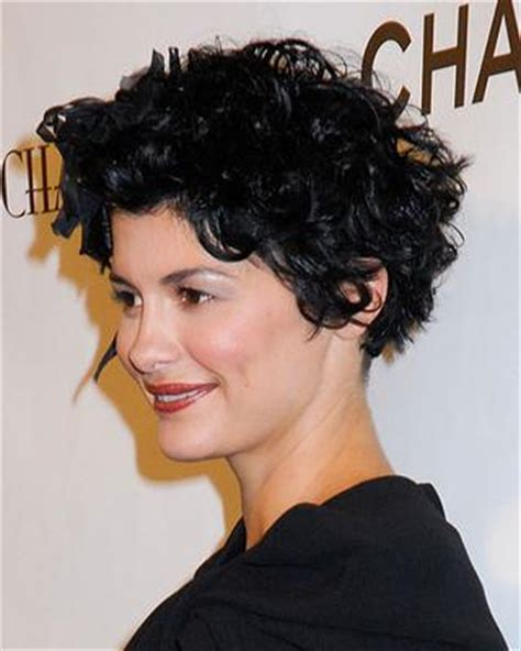 how to style your hair like audrey tautou short pixie how can i style my short hair more curly like audrey tautou
