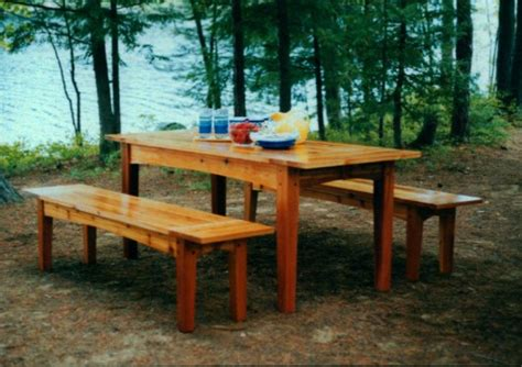 harvest table bench plans pdf diy harvest table and bench plans garden wood