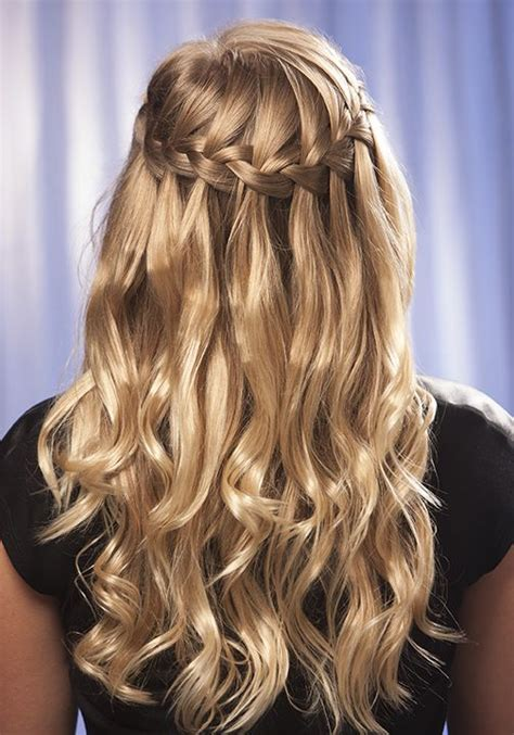 learn easy hairstyles at home learn how to make a waterfall braid at home using our