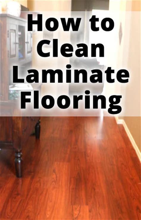 clean laminate floors cheap simple  easy solution