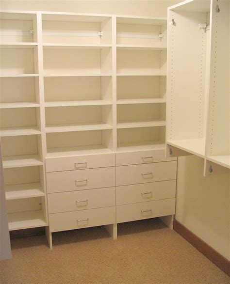 Closet Shelving Units Will A Custom Closet Organization System Work For Me
