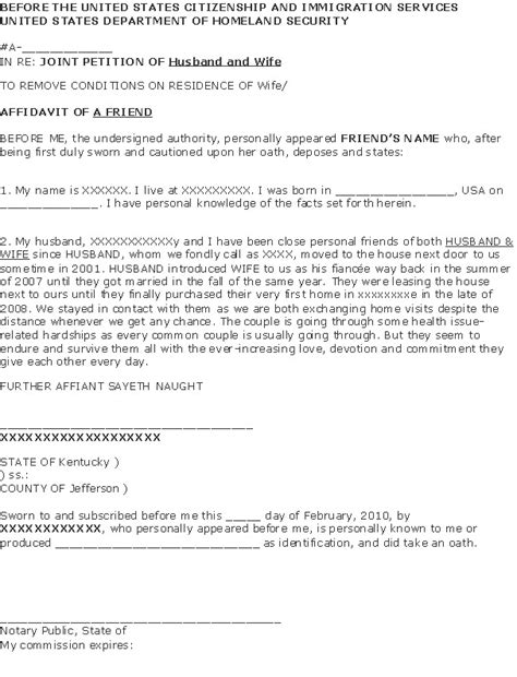 Sle Cover Letter For Form I 751 by I 751 Cover Letter Jvwithmenow