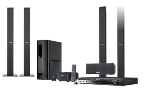 Panasonic Home Theater by Panasonic Sc Pt850w Dvd Home Theatre System Unveiled