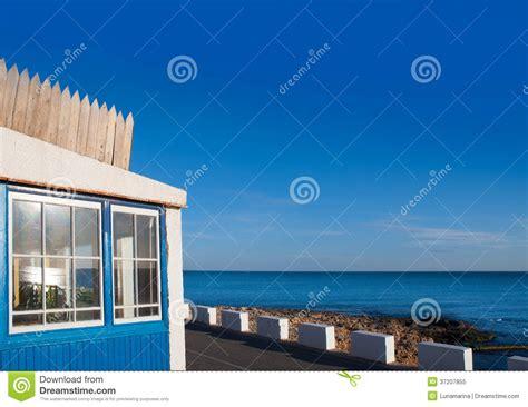 blue seas house denia las rotas near sant antonio cape royalty free