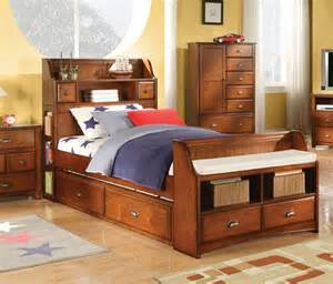 acme furniture brandon oak bed with storage
