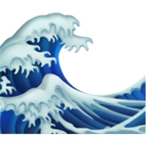 emoji of a wave water wave emoji u 1f30a