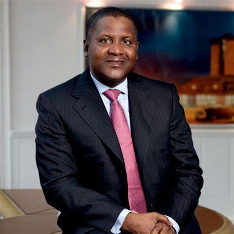 aux etats unis dafrique l homme le plus riche d afrique veut investir 50 milliards aux etats unis et en europe