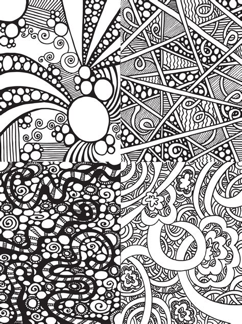 free doodle free coloring pages of doodle color pages