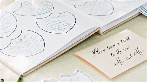 Wedding Advice Guest Book by 68 Guest Books From Real Weddings Martha Stewart Weddings