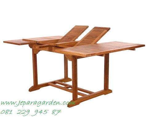 Meja Setrika Lipat Kayu jual meja lipat kayu jati jeparagarden