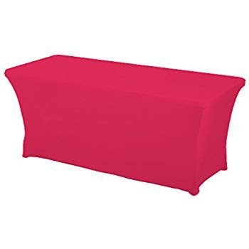 spandex table covers amazon amazon com haorui rectangular spandex table cover 6 ft