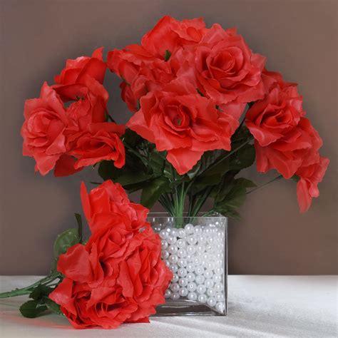 wholesale flowers centerpieces 168 silk open roses wedding bouquets flowers centerpieces wholesale supplies