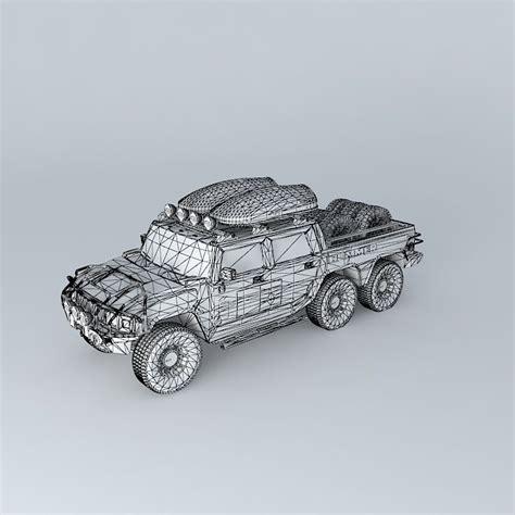 Kacamata 3d Frame Plastik H2 modified hummer h2 6x6 dakar support truck free 3d model max obj 3ds fbx stl dae cgtrader