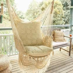 Porch Swing Chairs by Hanging Hammock Chair With Macrame Solid Color Swing