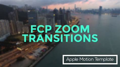 fcp templates fcp zoom transitions free apple motion template free