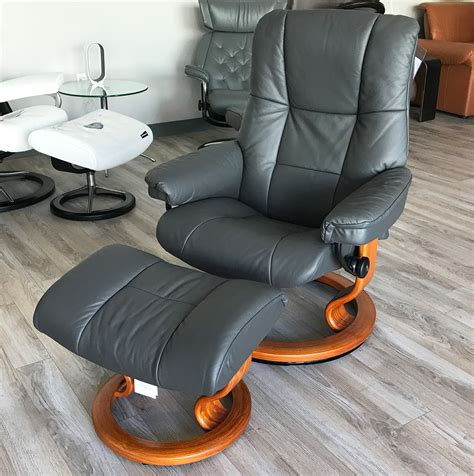 large leather recliner chairs stressless kensington large mayfair paloma rock leather