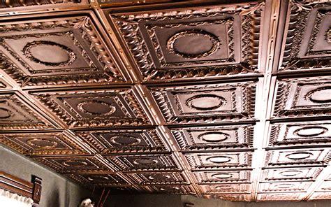 regal vintage ceiling tiles antique bronze