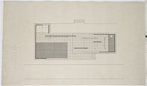 Mies Van Der Rohe Floor Plan by Ludwig Mies Van Der Rohe German Pavilion International