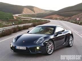 Porsche Caiman 2014 Porsche Cayman S European Car Magazine