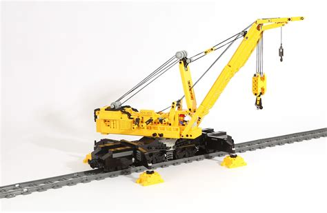 Kran Rr lego ideas railway crane goliath