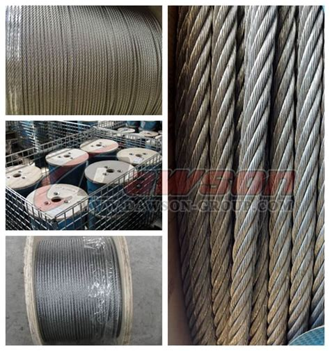 steel wire rope manufacturers steel wire rope construction 6 215 12 7fc china manufacturer supplier